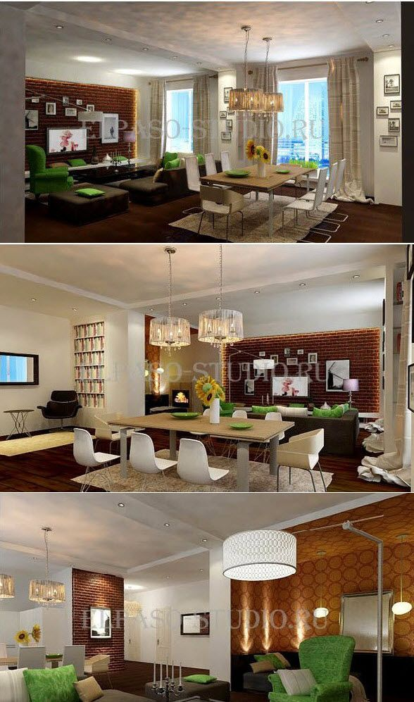 """Современное дизайнерское решение созданное специалистами студии """"Эльпасо"""" - проект квартиры в стиле лофт . http://elpaso-studio.ru/…/kva…/proekt-kvartiryi-v-stile-loft"""