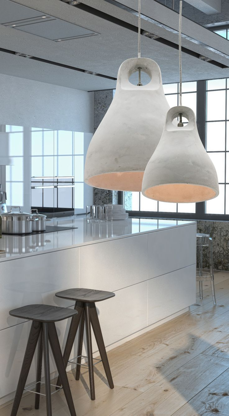 Bennett Concrete Pendant #MercatorLighting #InteriorDesign #Lighting #Modern #Design