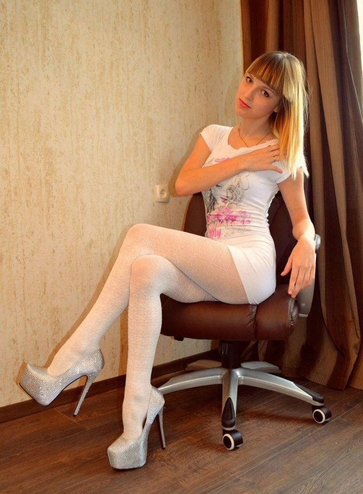 in white pantyhose p pantyhose