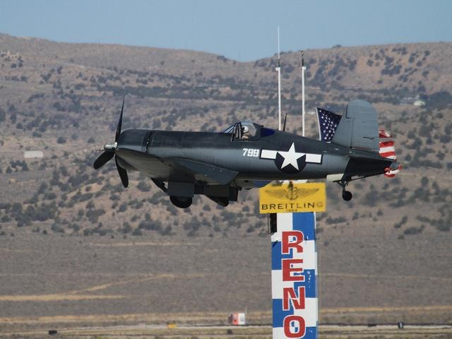 Reno Air Races - F4U Corsair
