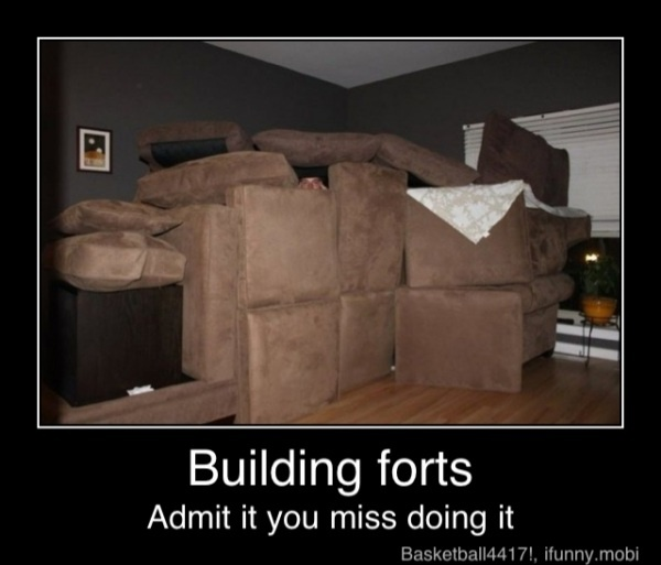 Why, yes, yes I do.: Building Forts, Funnies Pictures, Childhood Memories, Make Furniture, Kids, 5 Years, Demotivational Poster, Random Funnies, Couch Cushions