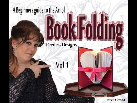 Book Folding Instructions - YouTube