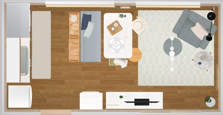 10畳 縦長ldk 狭い部屋をおしゃれにレイアウト Roomco Navi 縦長
