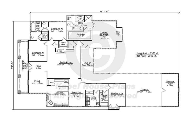 1000 images about house plans on pinterest for Acadian house plans louisiana