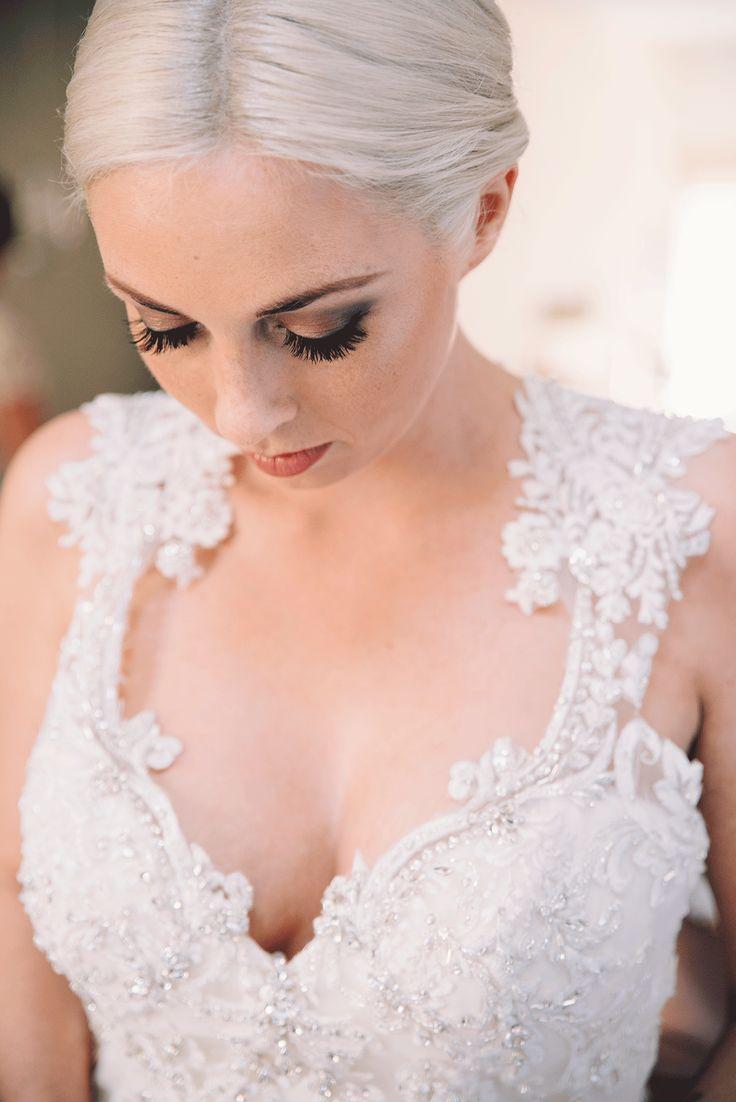 De vintage chique bruiloft van Daniël en Amanda | make-up + top