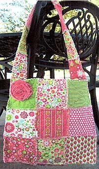BoHo Bag Pattern by Karen Bennett by Nellie's Needles