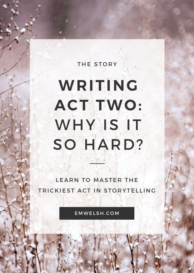 Now that we're halfway through #NaNoWriMo, many of you may be approaching the second act sag. Read on to see how to combat an empty second act!