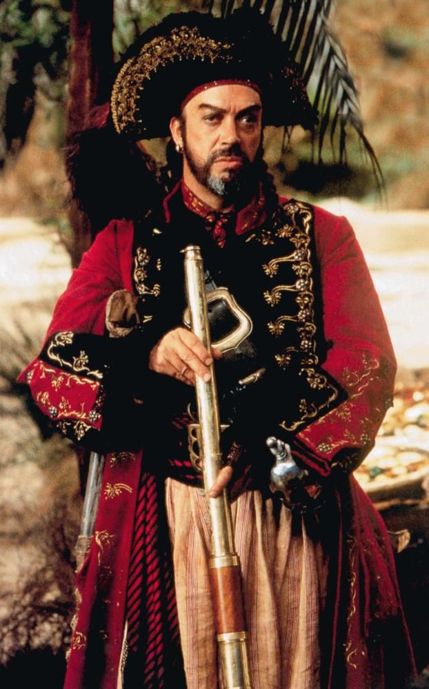 MUPPET TREASURE ISLAND, Tim Curry, 1996  | Essential Film Stars, Tim Curry http://gay-themed-films.com/essential-film-stars-tim-curry/