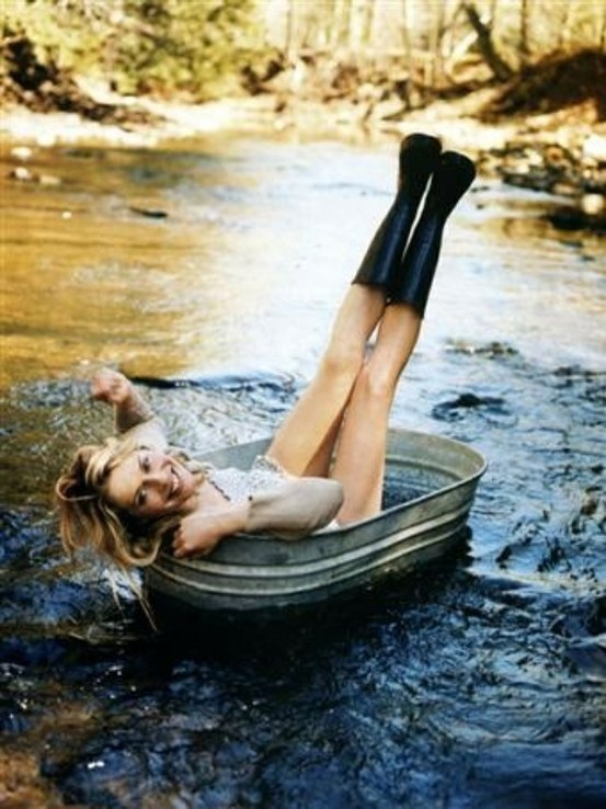 Oh my goodness, yes! This summer. Get a tin bucket, put it in the river, and sit in it while i go down the river. Who's with me??