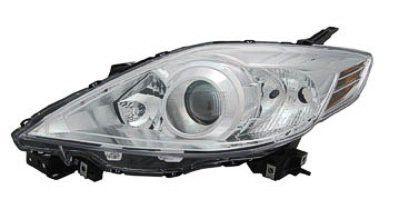 2010-2010 Mazda Mazda 5 Headlamp Halogen LH