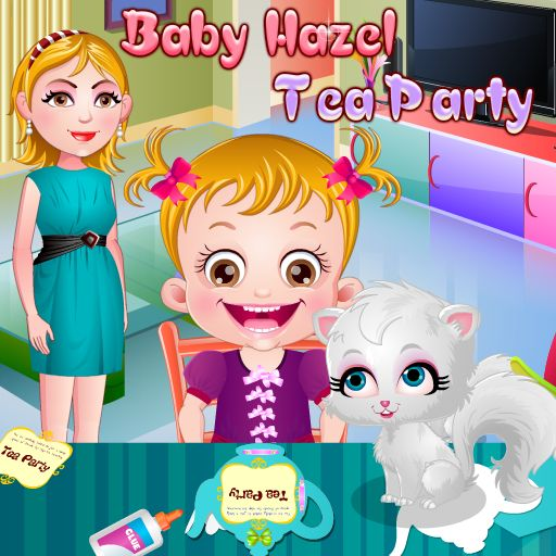 Baby Hazel has decided to host a princess tea party so that she can have leisure time to  chit chat with her friends. She won't be able to make all the party arrangements on her own. Help her in setting up all the things for the get­ together.  https://play.google.com/store/apps/details?id=air.org.axisentertainment.BabyHazelTeaParty