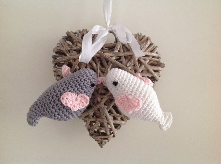 Beesblaasblog: LoveBirds. With links to English and Dutch pattern
