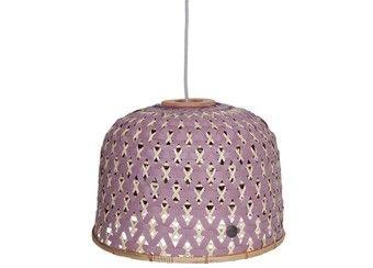 adembenemende 'Bamboolastic' hanglamp