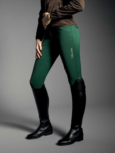 """Equiline Winter collection -- breeches water and stain repellent - in """"Basil"""""""