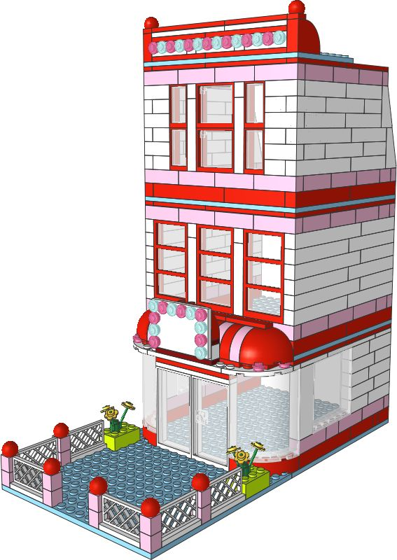 Joanna's Place - downloadable instructions for modular buildings made from Friends' sets. You can download the PDF...