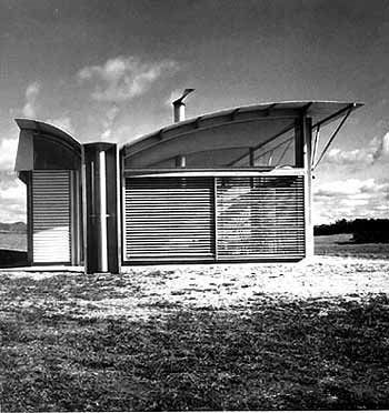 Magney House, Bingie Point, NSW, Australia, 1982-84 Glenn Murcutt, Architect