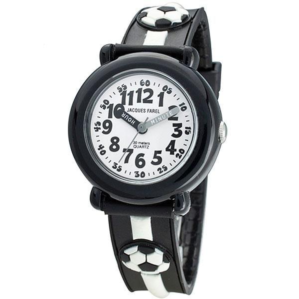 Ρολόγια : Ρολόι Jacques Farel Black Rubber Strap - KBW9002