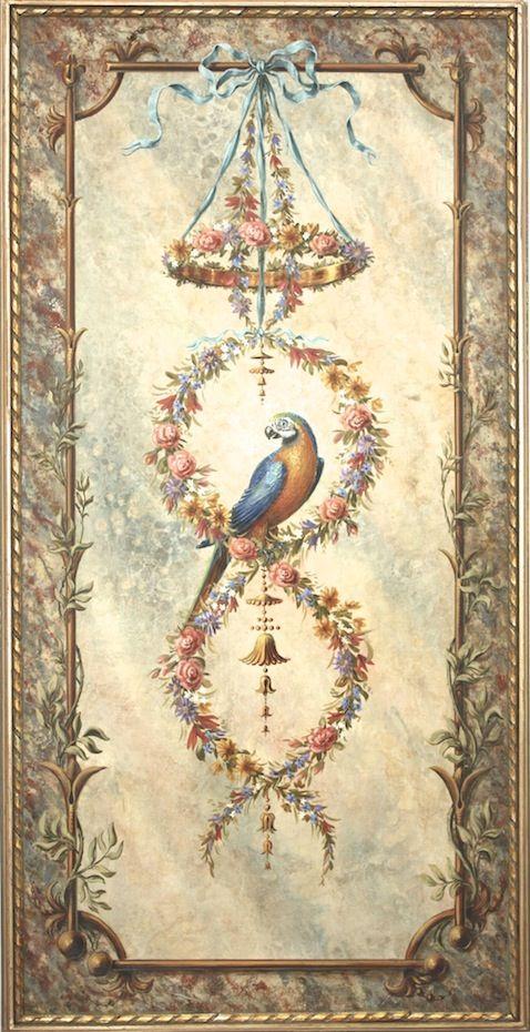 Parrot Garland Panel
