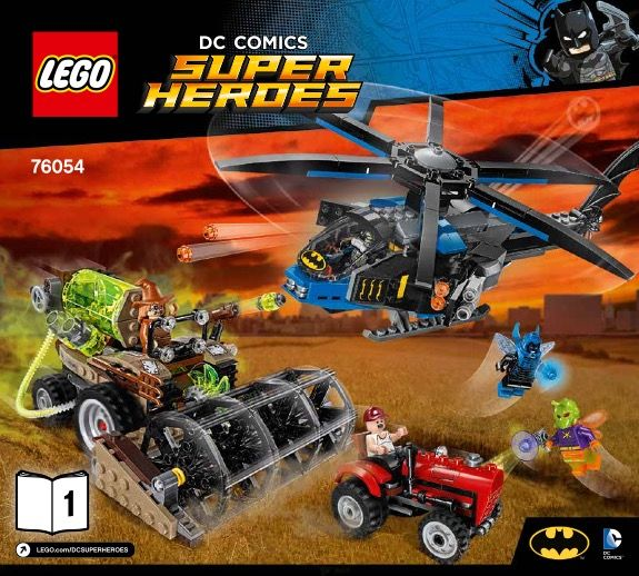 View LEGO instructions for Batman: Scarecrow Harvest of Fear set number 76054 to help you build these LEGO sets