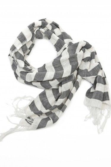 Gete: Black and White Striped Scarf: Empowered Women, Ravens Lilies, Black And White, Stripes Scarfs, Fashion Trends, Fair Trade, Products, Black White Stripes, Stripes Scarves