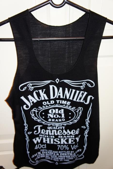 *Jack Daniels Top Shirt Gr. XS-M Neu*