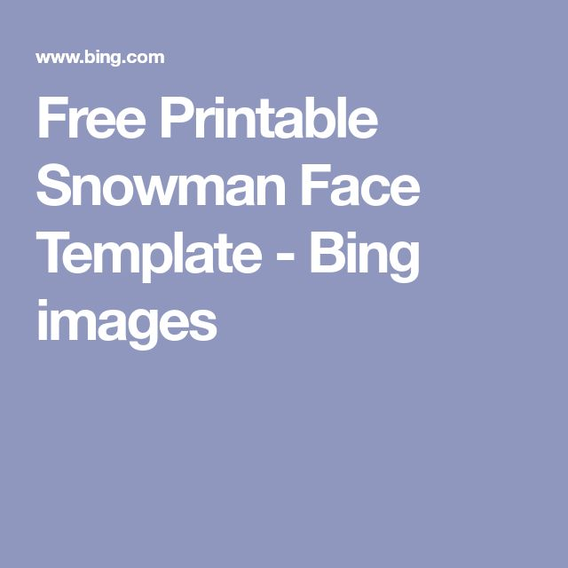 Best 16 Snowmen images on Pinterest Christmas crafts, Snowman and - snowman face template