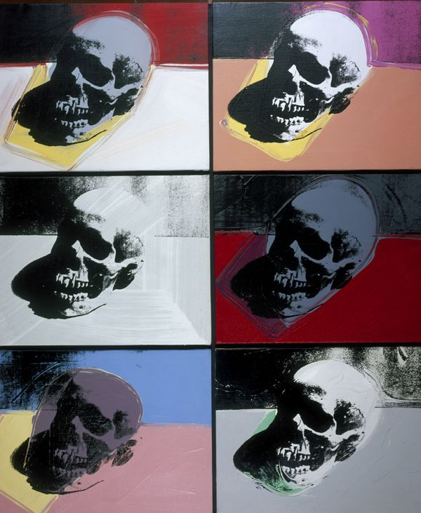 Warhol - Skull