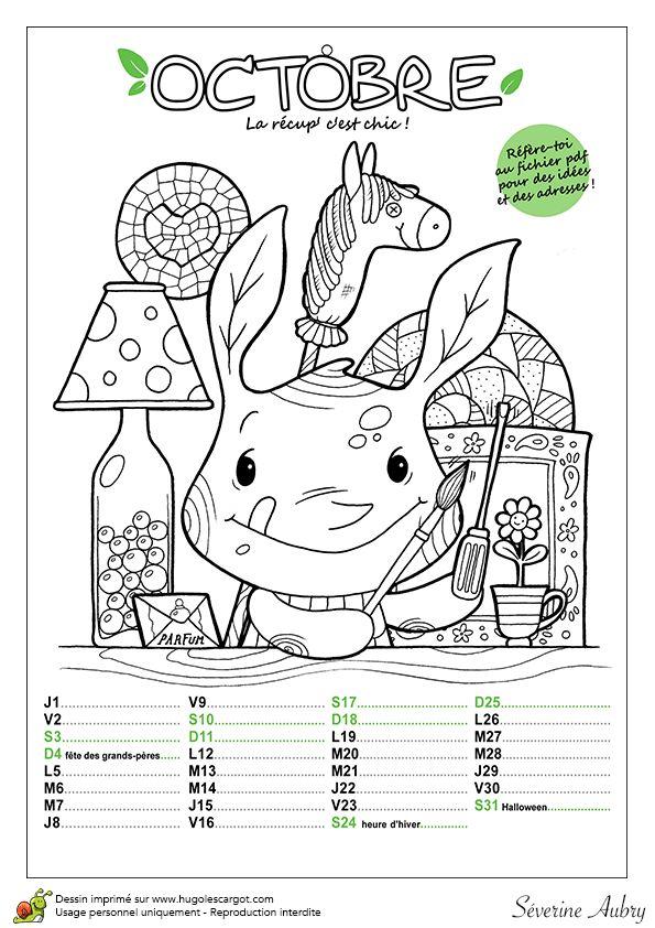 calendrier ecolo octobre 2015