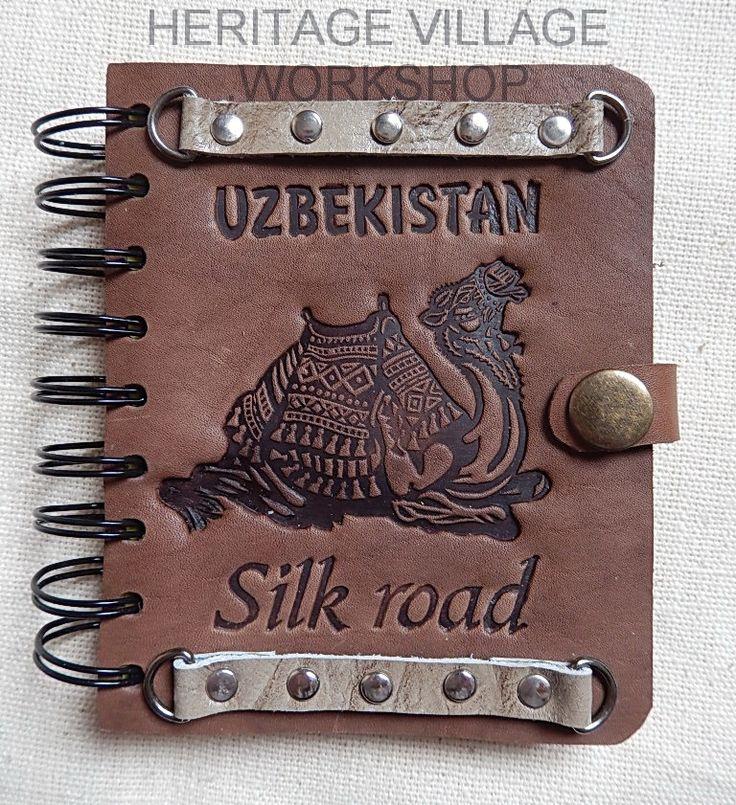Кожаный сувенирный блокнот  ручной работы с  декоративным тиснением по тематике  Великого  Шёлкового пути  ...  #leather_notebook , #great_silk_road , #silk_road , #шёлковый_путь , #блокноты , #ежедневники , #ручная_работа