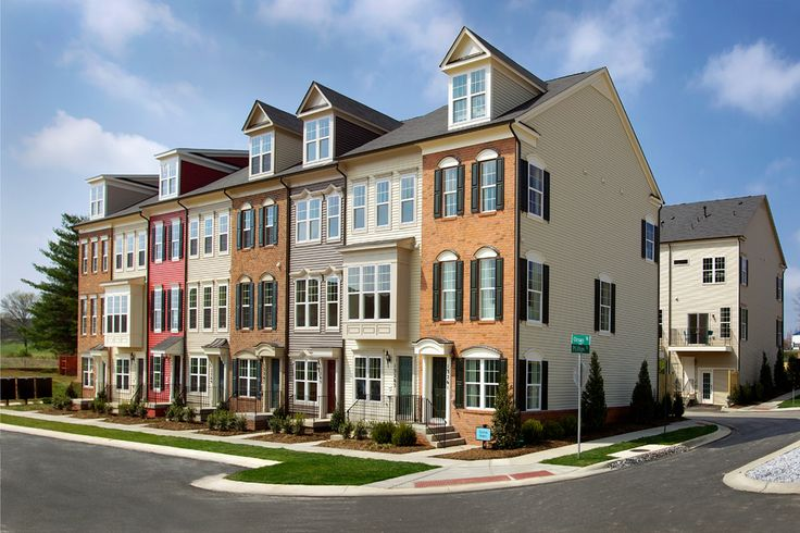 Beautiful luxury townhomes for sale at Gallery Park in