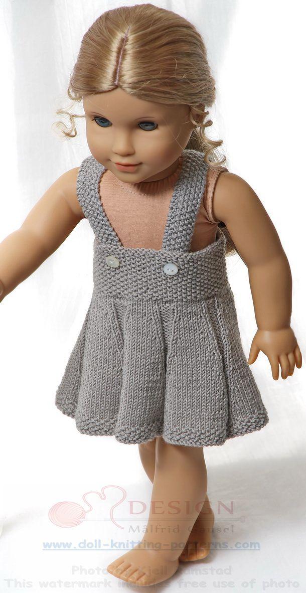 Modele tricot pour poupee - Une poupée radieuse dans des vêtements légers pour la belle saison