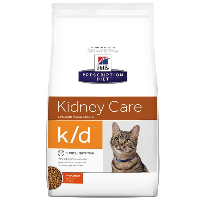 Hill's Prescription Diet K/D Kindey Care Adult Cat Food 3.85kg Petbarn
