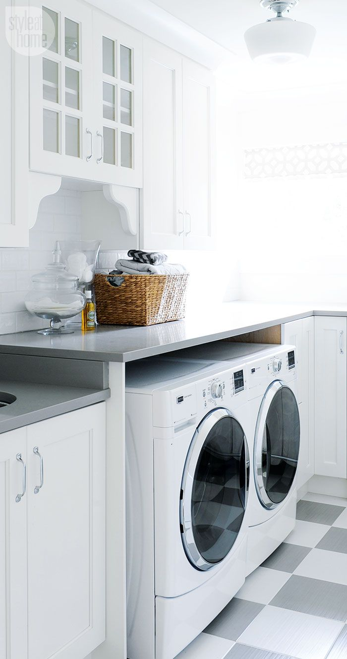 Classic farmhouse laundry room