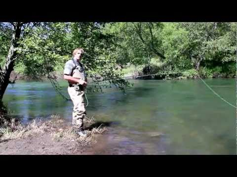 ▶ Fly Fishing Instruction - How to Dry Fly Fish for Trout - YouTube