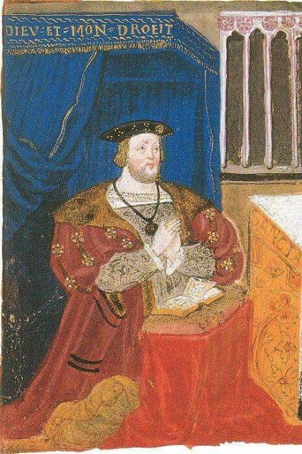 Tudor Faces: Anne Boleyn as 'The Lady of the Garter': A Rediscovered Image of Henry VIII's Second Queen