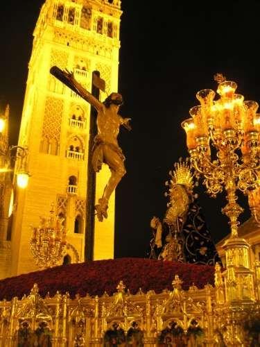 Sevilla en Semana Santa, La  Santacruz ,  Spain
