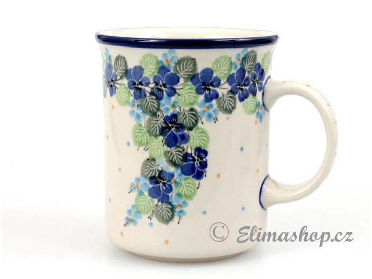 Mug Classic 0,6 l (20 oz) - *** ELIMAshop.cz *** Handmade Polish Pottery from Boleslawiec . Bunzlauer keramik . ceramics . stoneware . ELIMAshop.cz , shipping worlwide . Artystyczna .