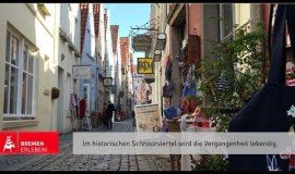 Schnoor quarter - Areas of Bremen - Must-see attractions in Bremen - Bremen at a glance - Bremen Tourism