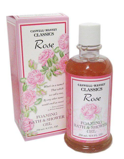 caswell massey rose bath gel 8.5 oz new