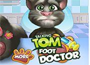 Talking Tom Foot Doctor | Juegos Littlest Pet Shop - jugar LPS online mascotas