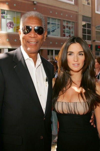 Morgan Freeman With Sexy Co Star Paz Vega 14 Themen