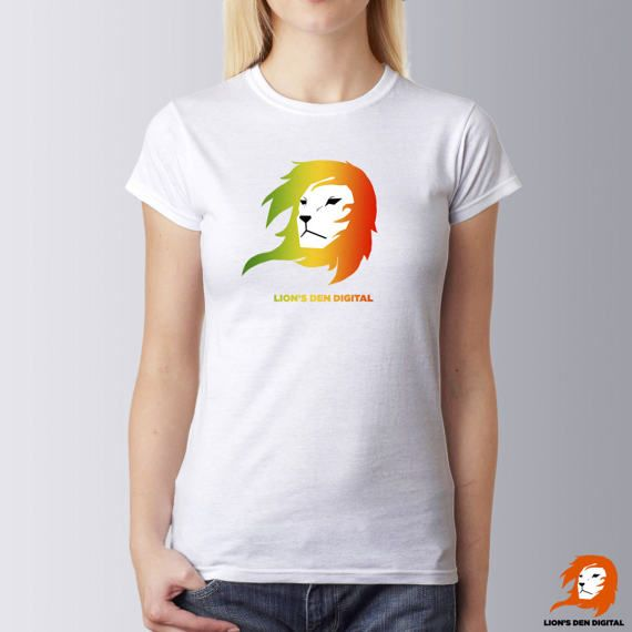Lion shirt Women Conquering lion t-shirt Rasta shirt 420