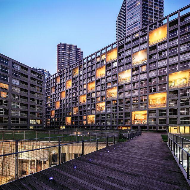 最近得到普利茲克建築獎的日本大師伊東豊雄所設計的住宅,喜歡建築的人必定要去的地方。