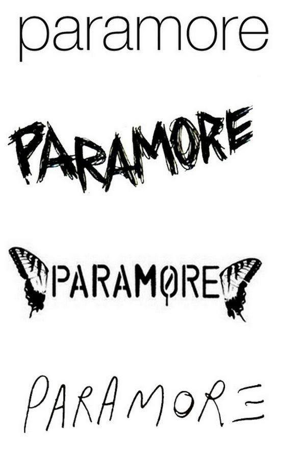 paramore band logo - photo #25