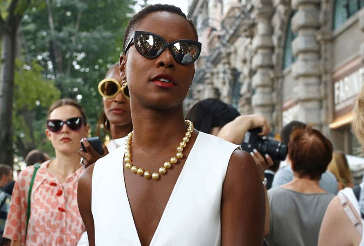 SHALA MONROQUE, MILAN PHOTOGRAPHED BY PHIL OH FOR AMERICAN VOGUE