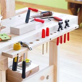 Werkzeugleiste für Werkbank - eine echte kleine Werkbank!