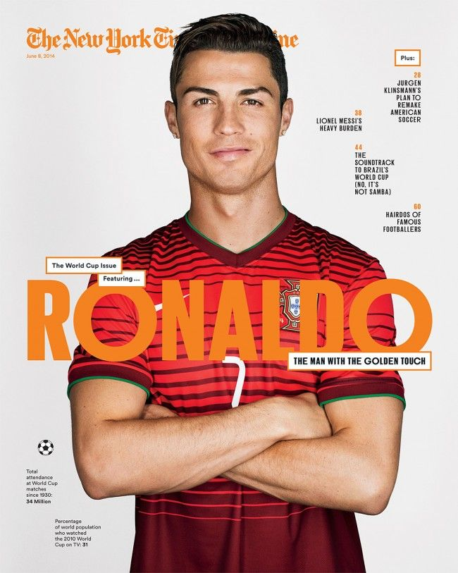 New York Times Magazine - Ronaldo