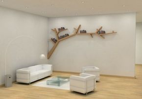 die besten 25 baum b cherregal ideen auf pinterest. Black Bedroom Furniture Sets. Home Design Ideas