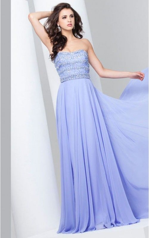 Amazing A-line Floor-length Chiffon Sleeveless Evening Dress