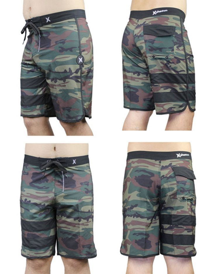 Men Casual Shorts, Beach Shorts, Army Green Shorts 30/S 32/M 34/L 36/XL 38/XXL
